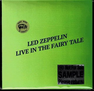 TMoQ sample Edition! Led Zeppelin/ Live In The Fairly Tale