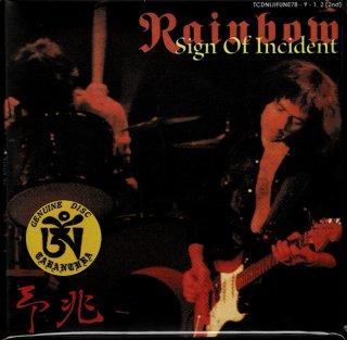 セカンド・エディション!TARANTURA/RAINBOW/予兆-Signs Of The Incident/2 CD, PAPER SLEEVE