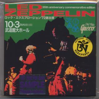 完売御礼!TARANTURA/NO USE GNECO/LED ZEPPELIN/1st SAMPLE EDITION