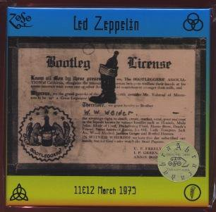 完売御礼!TARANTURA/Bootleg License/LED ZEPPELIN/6 CD BOX/2nd edition