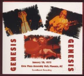 IMPORT / GENESIS/ CIVIC PLAZA ASSEMBLY HALL, PHOENIX, AZ / 2 CD