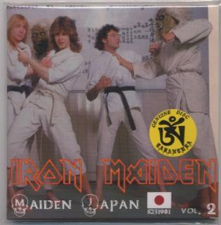 2nd edition! TARANTURA / IRON MAIDEN / MAIDEN JAPAN VOL.2