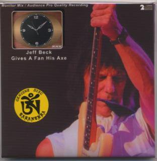 名演!TARANTURA/JEFF BECK/GIVES A FAN HIS AXE/2CD, PAPER SLEEVE