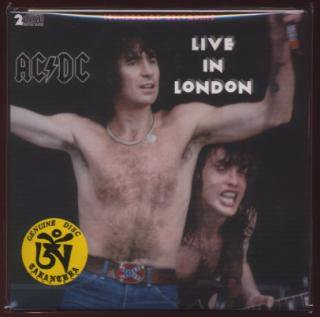 TARANTURA/Live In London/ACDC/ 2CD paper sleeve