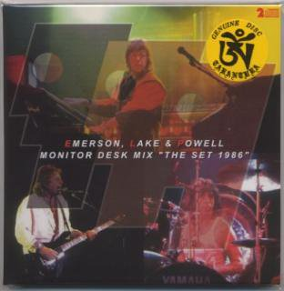 TARANTURA/EMERSON, LAKE&POWELL/THE SET 1986/2 CD,PAPER SLEEVE