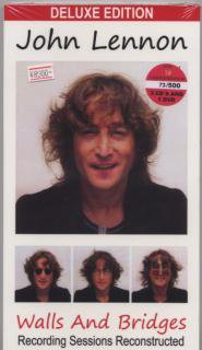 BFB RAPPLE/JOHN LENNON/WALLS AND BRIDGES Recording Sessions Reconstructed/3-CD+DVD BOOKSIZE DIG