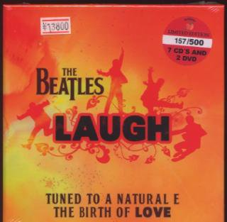 BFB/THE BEATLES/LAUGH/7-CD+ 2-DVD BOX