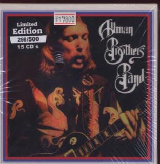 WONDERLAND/ALLMAN BROTHERS BAND – THE DUANE ALLMAN YEARS new!/15-CD BOX