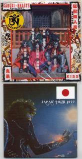 TARANTURA/KABUKI BEASTS・狂獣四人男/KISS/1 CD with Poster