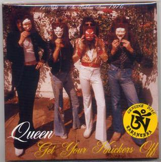 2nd edition!!TARANTURA/QUEEN/GET YOUR KNICKERS OFF/2 CD, PAPER SLEEVE