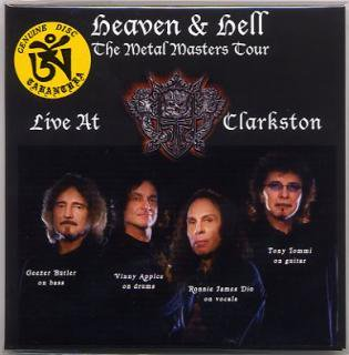 TARANTURA/Heaven & Hell/Live At Clarkston/ 1 CD, gatefold cover.Numbered.