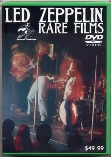 Sorceress Production/Led Zeppelin/Rare Films/1 DVD