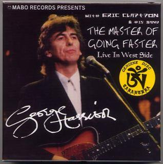 TARANTURA/GEORGE HARRISON with Eric Clapton/THE MASTER OF GOING FASTER/6 CD BOX, LIMITED NUMBERED