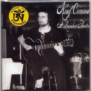TARANTURA/KING CRIMSON/AT RAINBOW THEATRE/ 2 CD PAPER SLEEVE