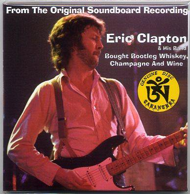 TARANTURA/ERIC CLAPTON/Bought Bootleg Whiskey, Champagne And Wine/ 2 CD,  PAPER SLEEVE - CD museum Pb