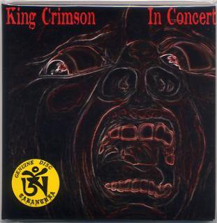 TARANTURA/KING CRIMSON/IN CONCERT/2 CDE, PAPER SLEEVE
