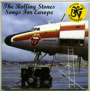TARANTURA/THE ROLLING STONES/SONGS FOR EUROPE/1 CD, PAPER SLEEVE
