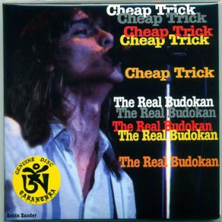 TARANTURA/CHEAP TRICK/THE REAL BUDOKAN/2 CD, PAPER SLEEVE