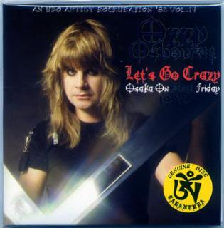 TARANTURA/Ozzy Osbourne /Let's Go Crazy-Osaka On Black Friday 1982/ 2 CD, PAPER SLEEVE