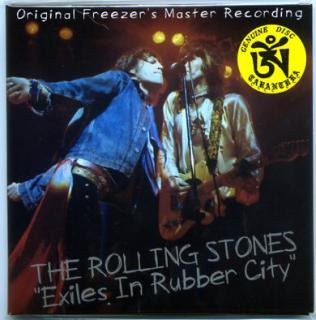 TARANTURA/THE ROLLING STONES/EXILES IN RUBBER CITY/1 CD, PAPER SLEEVE