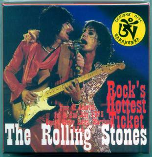 TARANTURA/THE ROLLING STONES/Rock's Hottest Ticket/ 4CD BOX, BOOKLET, LIMT#