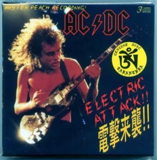 TARANTURA/ACDC/ELECTRIC ATTACK!! 電撃来襲/3 CD BOX, 12 PAGE BOOKLET