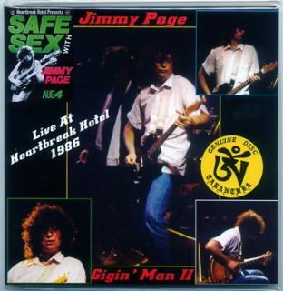 TARANTURA/JIMMY PAGE/GIGIN' MAN II/1 CD, GATEFOLD SLEEVE