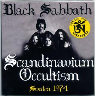 TARANTURA/BLACK SABBATH/Scandinavium Occultism/-1 CD, gate fold sleeve