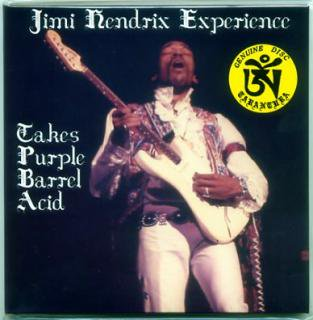 TARANTURA/JIMI HENDRIX EXPERIENCE/Takes Purple Barrel Acid/ 1CD GATE FOLD PAPER SLEEVE