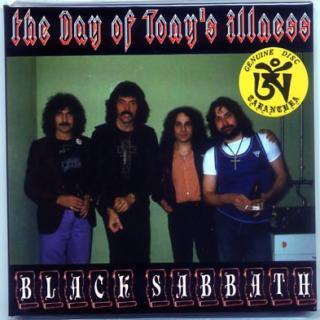 TARANTURA/BLACK SABBATH/THE DAY OF TONY'S ILLENESS/ 1 CD, GATEFOLD PAPER SLEEEVE