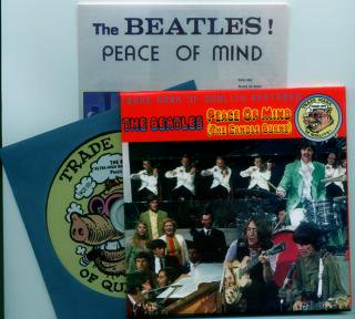 TMQR/THE BEATLES/PEACE OF MIND/1CD, BOOKLET