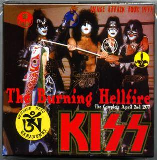 TARANTURA/KISS/THE BURNING HELLFIRE/7 CD BOX, BOOKLET TARANTURA