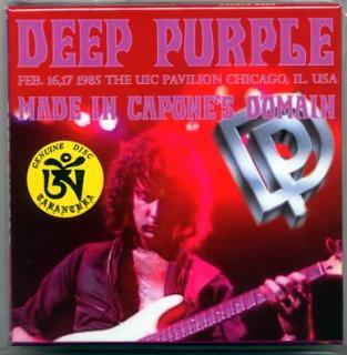 TARANTURA/DEEP PURPLE/MADE IN CAPONE'S DOMAIN/4 CD BOX, LIMITED 150!