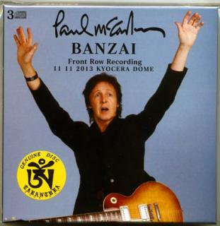 英語版!TARANTURA/PAUL McCARTNEY/BANZAI/3 CD BOX. BOOKLET.100 LIMITED#