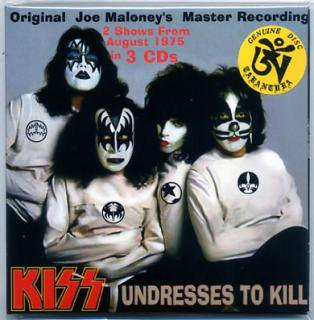 TARANTURA/KISS/UNDRESSES TO KILL/3 CD PAPER SLEEVE TARANTURA