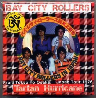 Tarantura Bay City Rollers Tartan Hurricane 5 Cd Box