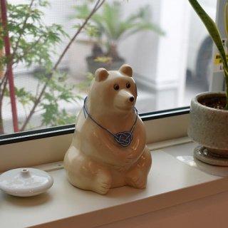 Polar Bear Money Box 水引(あわじ結び)付き
