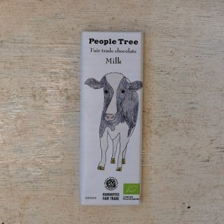 Fair trade chocolate ミルク---people tree
