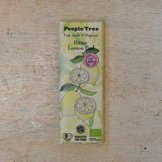 Fair trade & Organic chocolate ビター・レモンピール---people tree