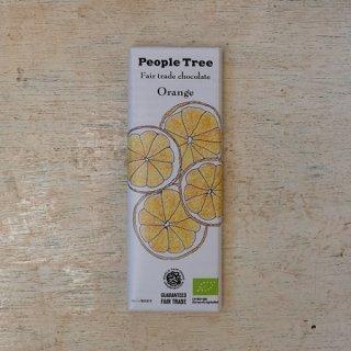 Fair trade chocolate オレンジ---people tree