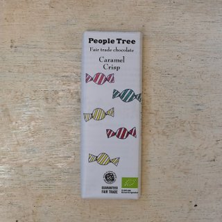 Fair trade chocolate カラメルクリスプ---people tree
