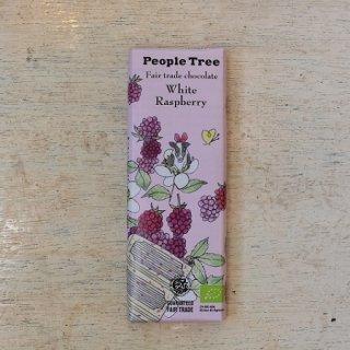 Fair trade chocolate ホワイト・ラズベリー---peple tree
