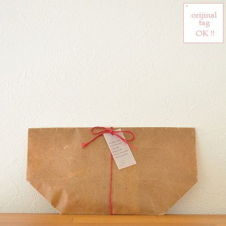 wrapping  linen cord + wax paper