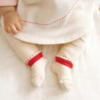 オーガニック綿ベビー靴下---粋更
