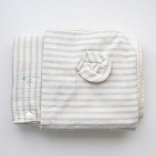 Shinowa | シノワ フード付きバスタオル---kontex