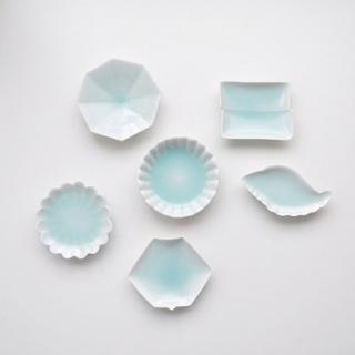 青白磁 手塩皿 各種---金照堂