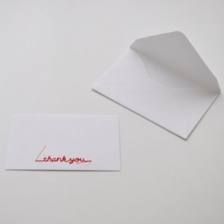 Gift Embroidery Card | 刺繍入りメッセージカード---MARUAI