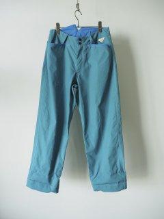 daska   カラーワークパンツ blue [ラスト1点]