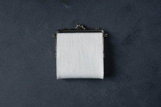 kagari yusuke   カガリユウスケ 何かのパーツ小銭入れ White