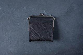 kagari yusuke   カガリユウスケ 何かのパーツ小銭入れ Black